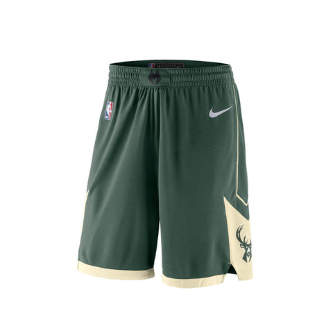 Nike Milwaukee Bucks Swingman Road Shorts 18