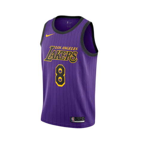 Nike Los Angeles Lakers City Edition Swingman Jersey 18- Kobe Bryant