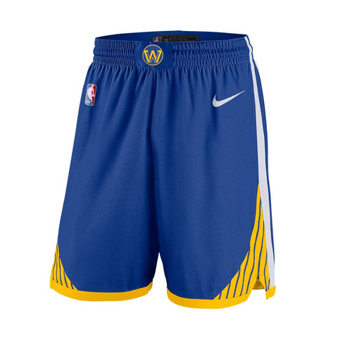 Nike Golden State Warriors Swingman Road Shorts