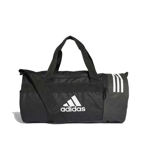 adidas Convertible 3-Stripes Duffel Bag-Extra Small