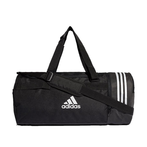 adidas Convertible 3-Stripes Duffel Bag | Toby's Sports