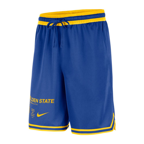 Nike Men's GSW DNA Courtside Shorts