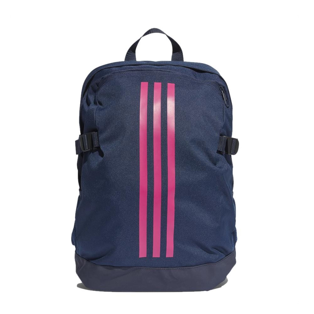 adidas 3-Stripes Power IV Backpack-Blue Pink 10e6a3dca4d07
