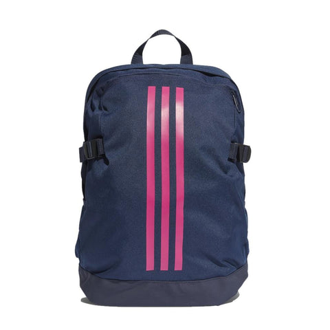 adidas 3-Stripes Power IV Backpack-Blue/Pink