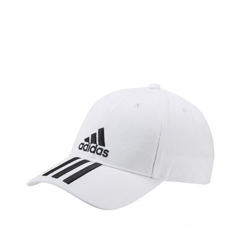 897d02d8 adidas 6-Panel Three Stripes Cotton Cap