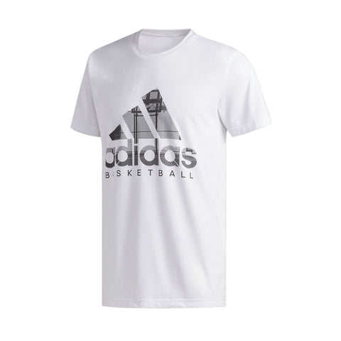 88080869c adidas Men's Badge of Sport Filled Logo Tee