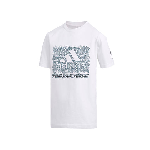 adidas Kids' Star Wars Lockup Tee