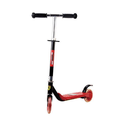Buy the Ferrari Two-Wheel Scooter-Black at Toby's Sports!