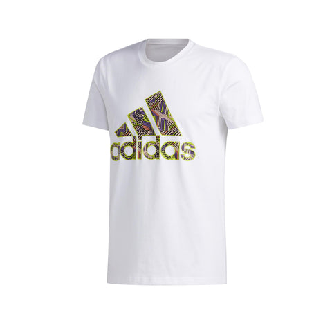 ADIDAS MEN'S BASKETBALL LOGO SHIRT