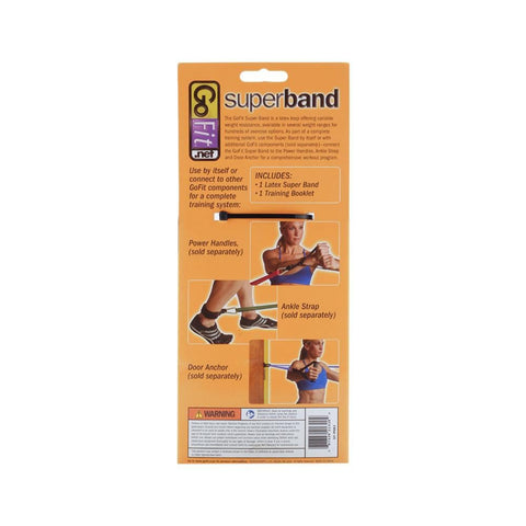 GoFit Power Super Band 2''