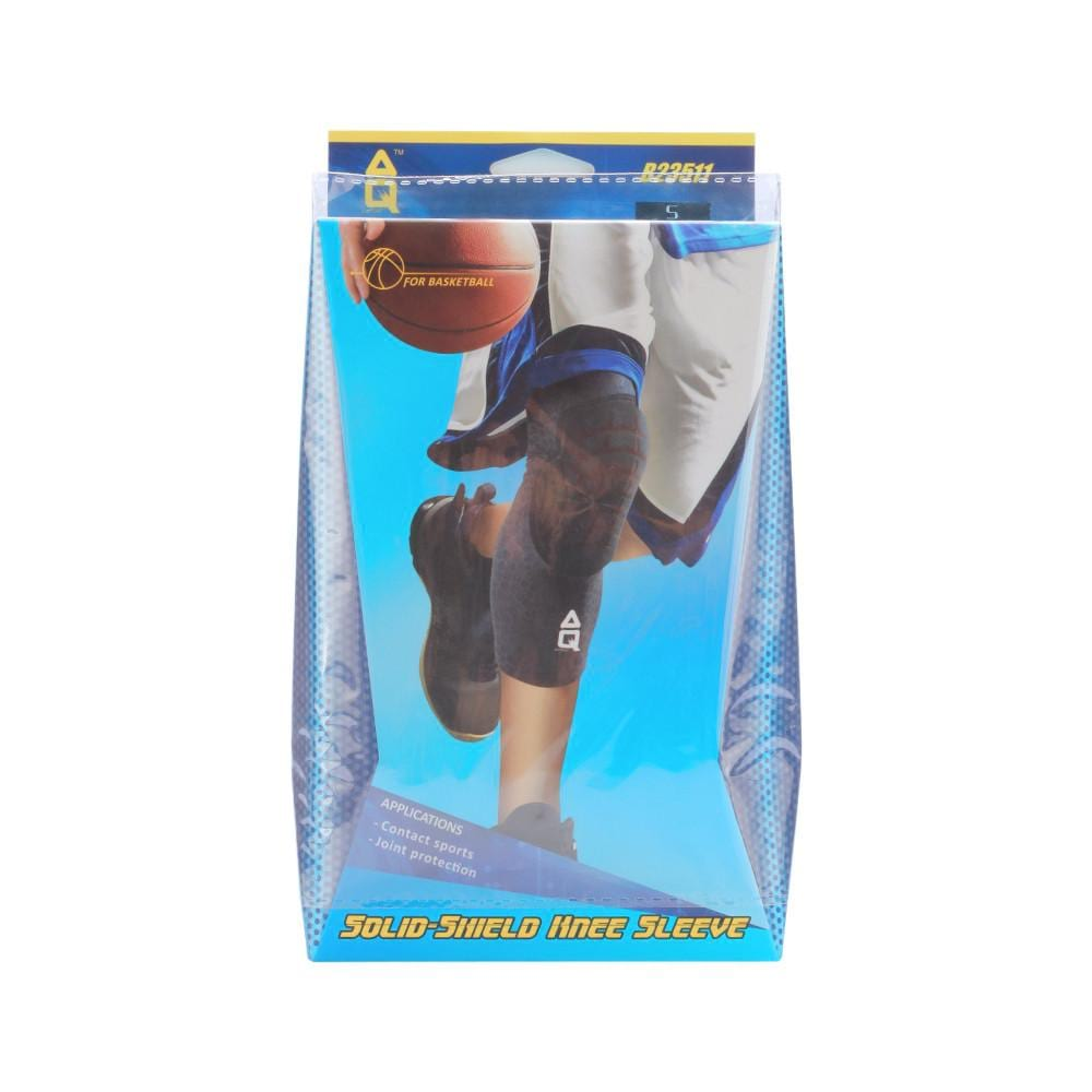57f59d0a61 AQ Solid-Shield Knee Sleeve | Toby's Sports