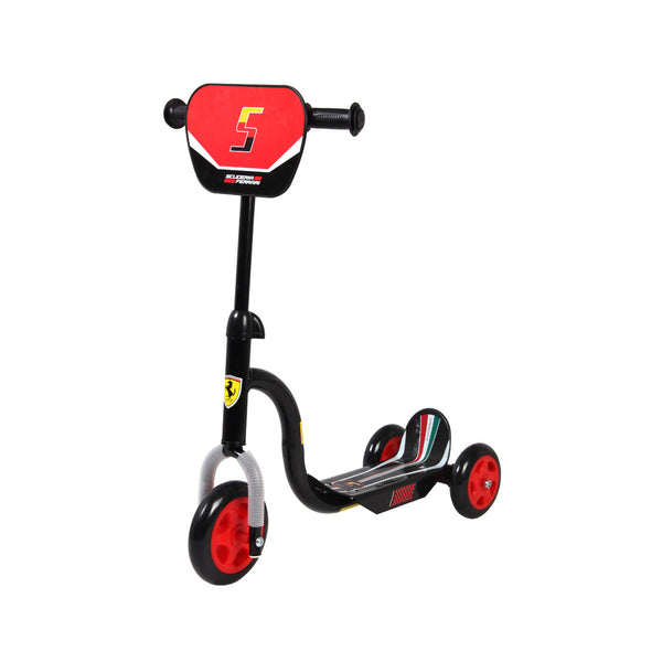 Buy the Buy the Ferrari Kid Tri-Scooter-Black at Toby's Sports!