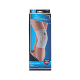 AQ Basic Knee Pad 2051 White | Toby's Sports