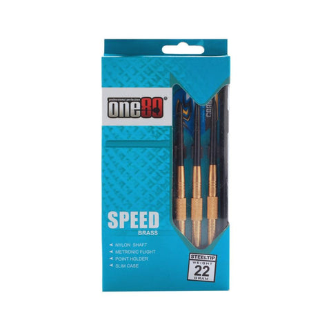 One80 Speed Brass Dart Set | Toby's Sports