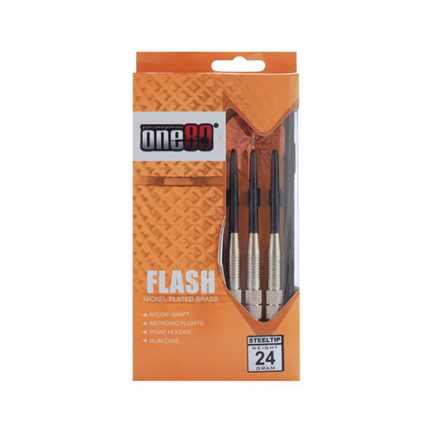 Buy the One80 Flash Star Dart Set at Toby's Sports!