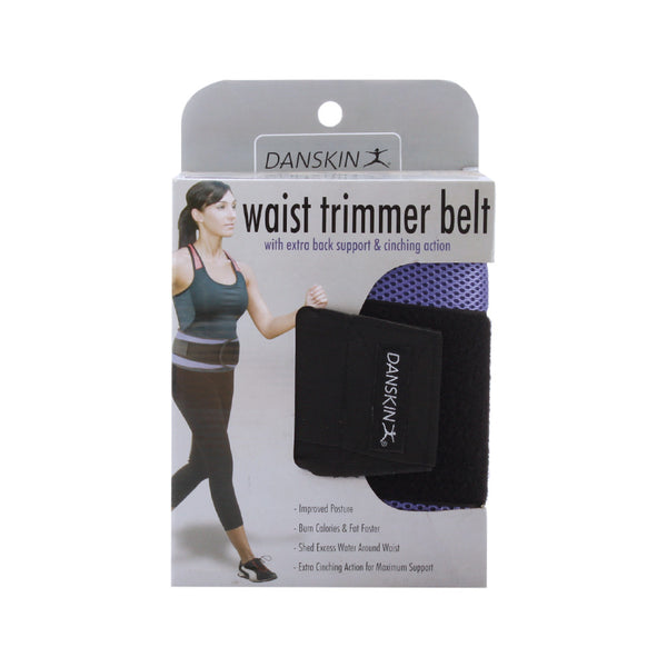 Danskin Waist Trimmer Belt with Cinch Support