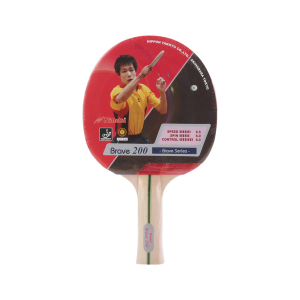Buy the Nittaku Table Tennis Brave FL200 Bat at Toby's Sports!