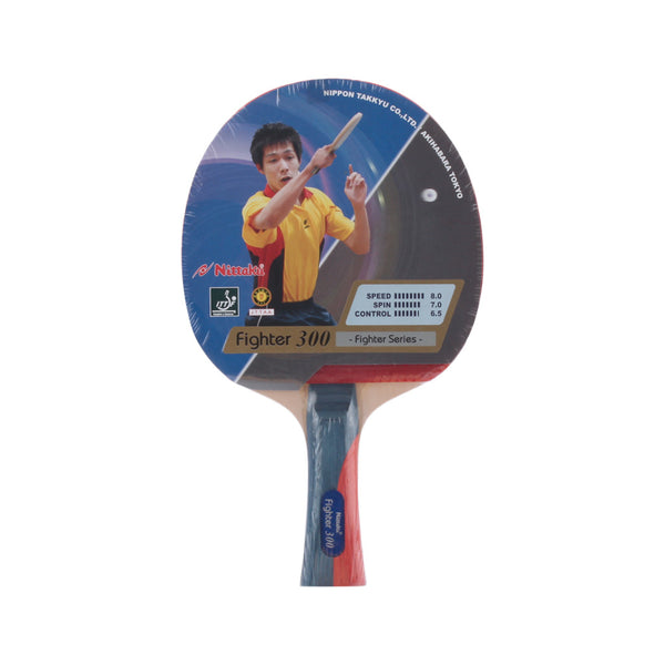 Nittaku Table Tennis Fighter 300 Bat | Toby's Sports
