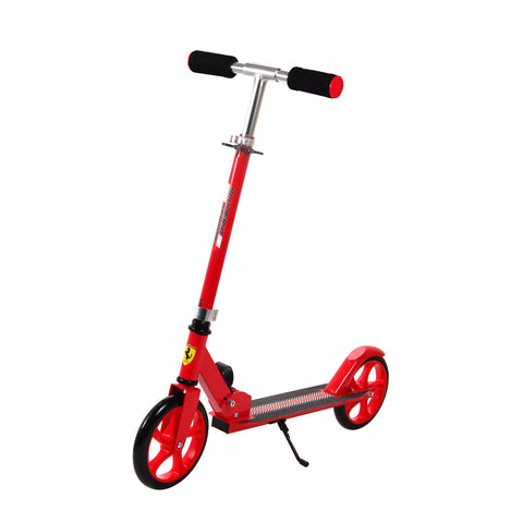 Buy the Ferrari Adult Big Wheel Scooter-Red at Toby's Sports!