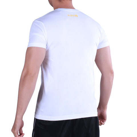 RUNNR Tri Phil Men's White Shirt