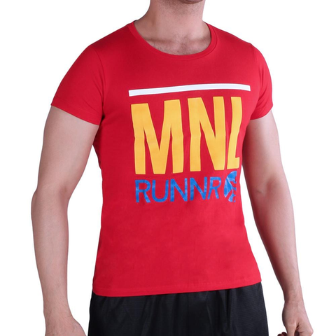 Buy the RUNNR MNL Men's Shirt at Toby's Sports!