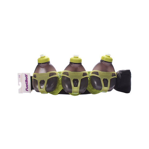 Buy the FuelBelt H20 3-bottle Belt at Toby's Sports!