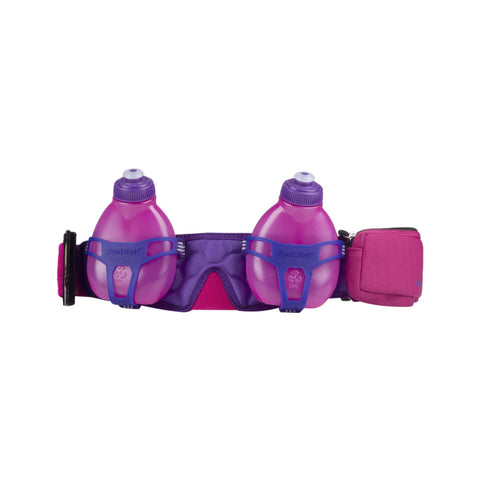Buy the FuelBelt Helium H20 2-Bottle Belt 428104 at Toby's Sports!