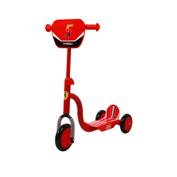 Buy the Ferrari Kid Tri-Scooter- Red at Toby's Sports!