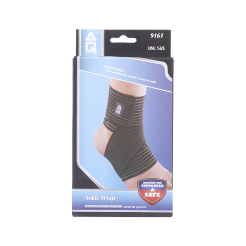 Buy the AQ 9161 Ankle Wrap at Toby's Sports!