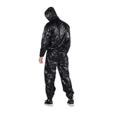 Core Black Sauna Suit with Hood