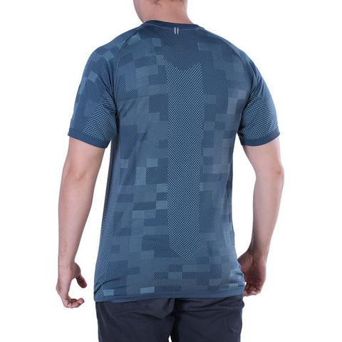 Nike Dri-fit Knit Contrast Blue Shortsleeves