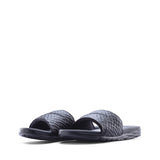 Buy the Nike Benassi Solarsoft Black Slides 2 705474-091 at Toby's!