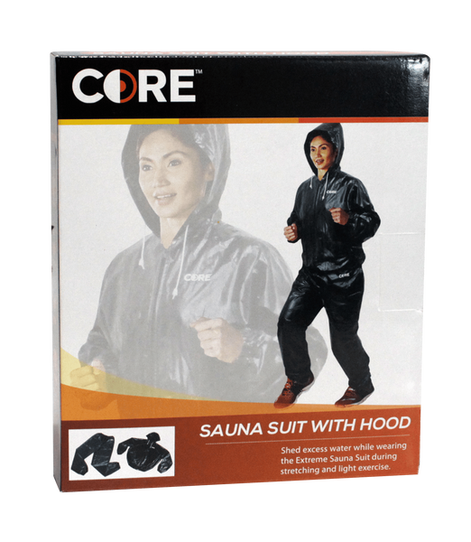 Buy the Core Sauna Suit with Hood at Toby's Sports!