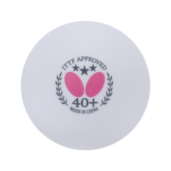 Butterfly White Table Tennis Balls