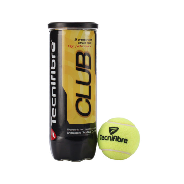 Buy the Tecnifibre Club 3 Balls at Toby's Sports!