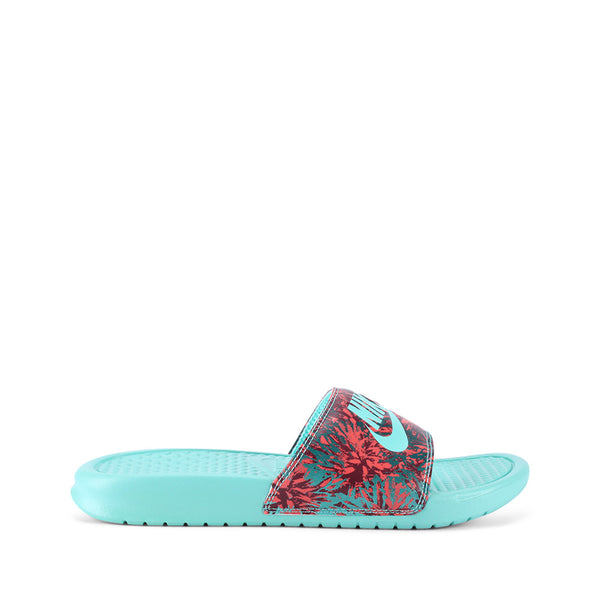 Buy the Nike WMNS Benassi JDI Print 618919-603 at Toby's Sports!
