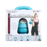 Buy the Empower 3-in-1 Kettlebell at Toby's Sports!