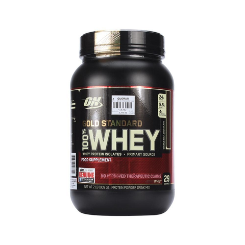 Buy the Optimum Nutrition Gold Standard  100% Whey at Toby's Sports!