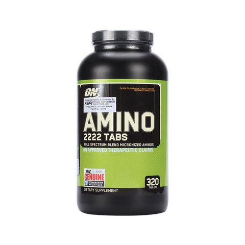 Buy the Optimum Nutrition Superior Amino 2222 Tablets at Toby's Sports!