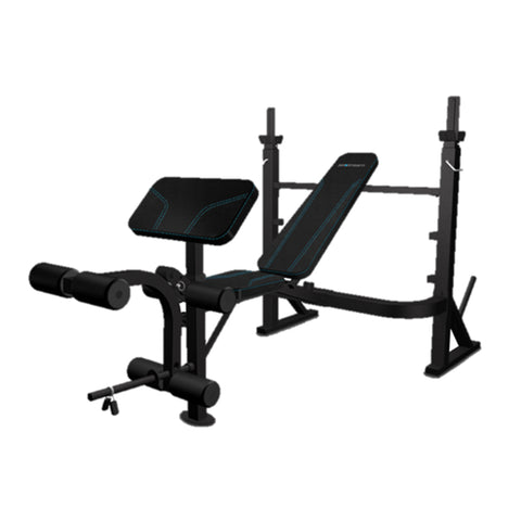 Jetstream HB-800 Weight Bench with Squat Bay