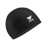 Buy the TYR Latex Swim Cap-Black at Toby's Sports!