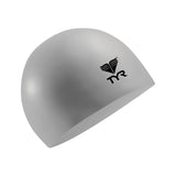 Buy the TYR Latex Swim Cap-Silver at Toby's Sports!