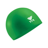 Buy the TYR Latex Swim Cap-Green at Toby's Sports!