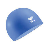 Buy the TYR Latex Swim Cap-Royal at Toby's Sports!