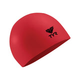 Buy the TYR Latex Swim Cap-Red at Toby's Sports!