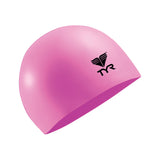 Buy the TYR Latex Swim Cap-Pink at Toby's Sports!