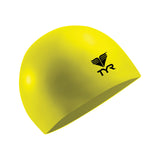 Buy the TYR Latex Swim Cap-Yellow at Toby's Sports!