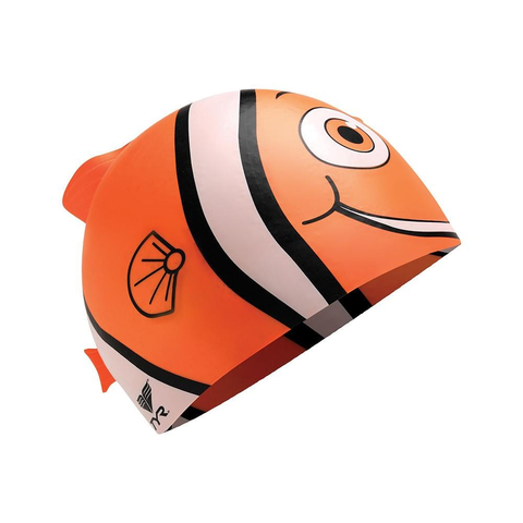 Buy the TYR Kids Character Happy Fish Swim Cap at Toby's Sports!