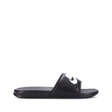 Nike Benassi Just Do It Black Slides | Toby's Sports