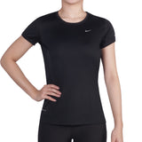 Buy the Nike Women's Miler Short Sleeve Crew Top at Toby's Sports!
